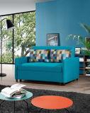 Живущий кровать софы ткани 3 отдыха комнаты сложенная (K038)