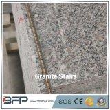 Opérations grises bon marché de granit de G623 Lara pour l'escalier d'extérieur de granit