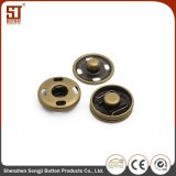円形のMonocolorの個人のスナップの金属ボタン