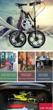 X-Form Entwurfs-leichtes faltendes Fahrrad Yzbs-6-16