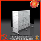 MDF Gondola Slatwall Display Rack pour magasin