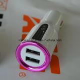 Chargeur mobile de téléphone de pouvoir avec 2 USB