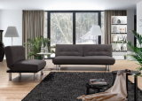 Sofá flexível da tela do estilo simples ajustado para a sala de visitas