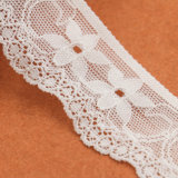Kleid verwendete Blume gestrickte afrikanische Tulle-Spitze-Gewebe für Partei