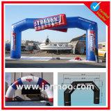 Arco quadrato gonfiabile commerciale di evento del PVC di abitudine