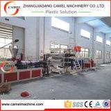 Máquina de piedra de mármol de imitación de la protuberancia del suelo de la escultura de la cadena de producción de la hoja del PVC/PVC