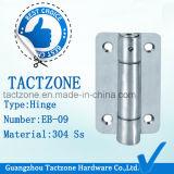 Atacado 304 Stainless Steel Toilet Partition Hardware Dobradiça da porta de mola
