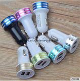 Micro caricatore Port del USB del caricatore 2 dell'automobile del USB del caricatore dell'automobile del USB per l'automobile