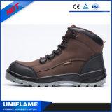 Обувь Ufb029 безопасности шнурка PU/PU Outsole Headman