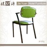 椅子(JY-F51)を食事するレトロの金属棒のレストランの家具