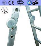 4 de Multifunctionele Ladder van het Aluminium van stappen