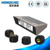 TPMS solar para 4 rodas veículo comercial e carro com o sensor sem fio externo do pneu