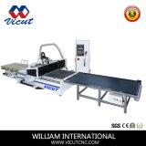 Fatura de trabalho da mobília do painel da madeira da máquina do CNC (VCT-P1325ATC)