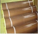PTFEの上塗を施してある耐熱性グラスクロスの粘着テープ