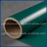 Material revestido engranzamento da impressão da bandeira do cabo flexível do PVC de encerado da bandeira com baixo preço