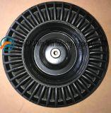 손수레 (4.00-8)를 위한 까만 단단한 고무 바퀴