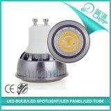 Scheinwerfer des Aluminium-4X1w GU10 LED