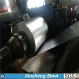 Bobina de acero cubierta cinc de acero vendedora caliente 0.13mm-1.5m m de la bobina del Galvalume