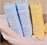 Toalla de baño grande de lujo de bambú de ducha del color sólido