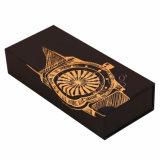 Handgemachte Form rundes Papppapier-Uhr-Geschenk-Kasten-Verpacken