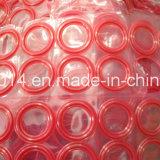 Anéis-O de borracha do selo do silicone vermelho do silicone