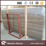 Mármol de madera de la vena del café de China para el diseño del azulejo de la pared