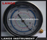 Calibrador de presión de Fillable del petróleo 066 con el OEM del borde