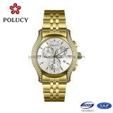 Acero inoxidable 316L de oro rosa impermeable reloj personalizado