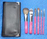 Qualitäts-schöne Hilfsmittel-Rosen-rotes Verfassungs-Pinsel-Set 6 Stücke