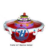 Equipo suave de interior del juego del nuevo de la torta 2017 vector de la arena para los niños (ZJ-OST02)