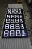 El panel sensible blanco del precio de la gasolina de la pulgada LED de Hidly 12