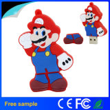Cartoon Design PVC Mairo Mémoire flash 1-128 Go USB Disk