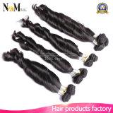Волосы Funmi оптовой девственницы человеческих волос Remy Weft бразильской прямые