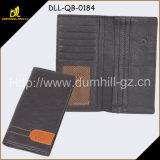 Бумажник человека высокого качества кожаный