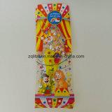 BOPP transparentes transparenter Beutel der flache Unterseiten-Quadrat-Plastiktasche-BOPP für Süßigkeit