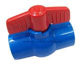 """1/2 """" - """" клапан шарикового клапана PVC 4 пластичный для водоснабжения"""