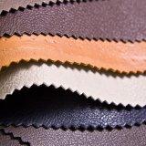 Couro de sapatas durável do couro do saco de couro da mobília do plutônio