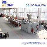Máquina de Produção Plástica do Indicador Largo do Perfil do PVC WPC Que Expulsa