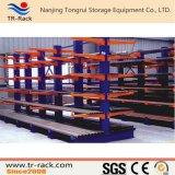 Cremalheira Cantilever ajustável resistente do armazenamento do armazém