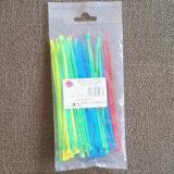 Nylonweiß-Farbe der kabelbinder-100PCS/Bag