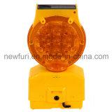 太陽バリケードライト道路LEDの警報灯