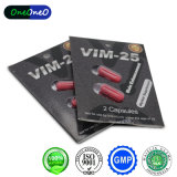 Vim 25 남성을%s 초본 추출 성 증강 인자 캡슐 성 환약