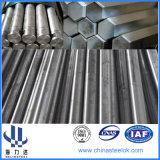 1020 1045 fabricación hexagonal retirada a frío de la barra del acero de carbón de C45 S45c