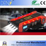 hors-d'oeuvres Emergency de saut de véhicule de côté rechargeable de l'alimentation de secours 16800mAh