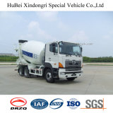 5cbm Hino Concrete 3 Euros Dlievery Transport Mixer Truck with Hino Engine