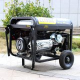 Bison (China) 6000W 6kVA Key Start Ce Aprovado Fábrica Price Portable Gasoline Generator 3 Phase 6kw Power Supply