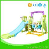 Крытое скольжение и качание спортивной площадки игрушки для серии малыша d