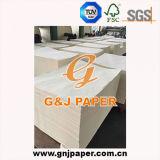 Papier de retrait tubulaire de taille de la pulpe A4 en feuille