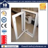 Ventana esmaltada doble de aluminio del marco del vidrio Tempered del marco