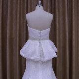 Vestido de casamento elegante da sereia do OEM
